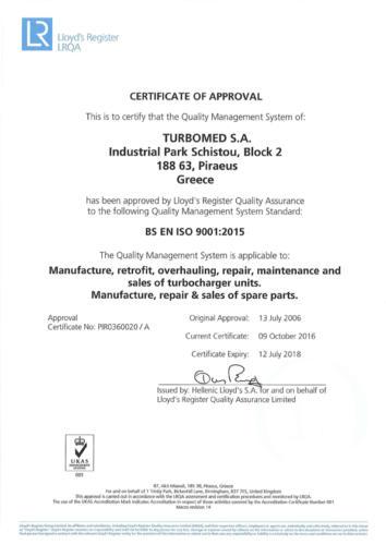 LLOYD-S CERTIFICATE 9001small
